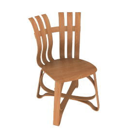 Gehry Hat Trick™ Side Chair