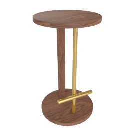 Spot Counter Stool, Walnut