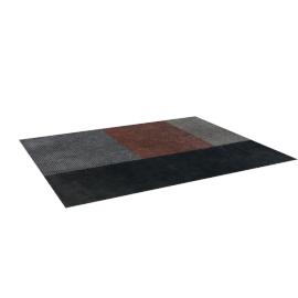 Stippen Rug 8'X10', Charcoal