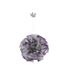 Slamp veli pendant light, plum