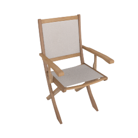Lazy Saturday Dining chair, Brown