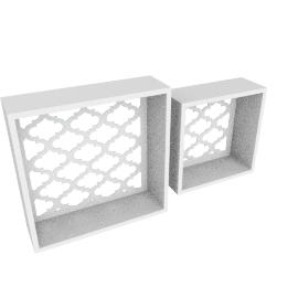 Warner Decorative Shelf - Set of 2