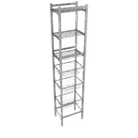 Bathroom Multi-Rack, 6 tier