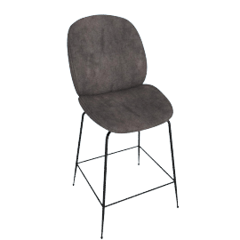 Beetle Counter Stool, Warm Grey