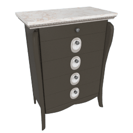 Dorian 5-Drawer Chest of Drawers