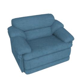 Cuddler Armchair, Light Blue