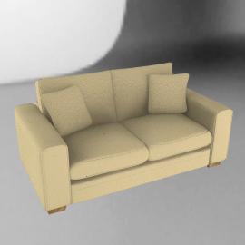 Umbria Medium Sofa, Desert