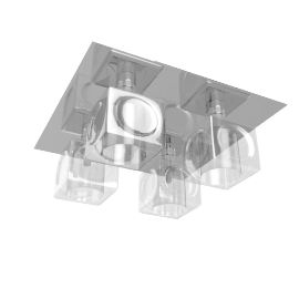 Cuboid Ceiling Light