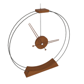 Double Rings Desk Clock