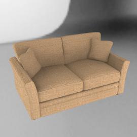 Claire Small Sofa, Beige