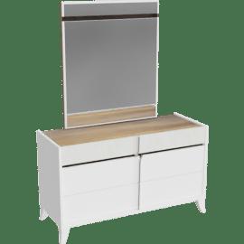 Blaze Dresser with Mirror
