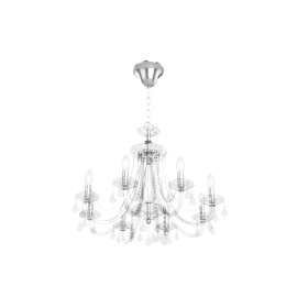Ophelia Crystal Chandelier, 8 Light