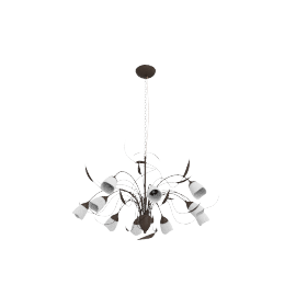 Yasmin Ceiling Light, 10 Arm