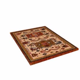 Kabir Patterned Rug, Rust / Beige, W85 x L155cm