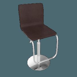 Iris Bar Chair, Chocolate Brown