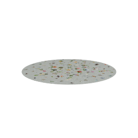 Flo Grey Round