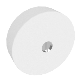 Button Mini Parete Polycarbonaat - by Flos