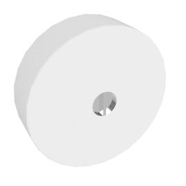 Button Mini Parete Polycarbonaat - by Flos