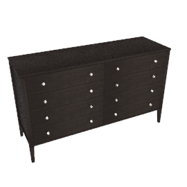 Hotel 8 Drawer Wide Chest