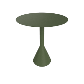 Paliddade Cone Table, Olive