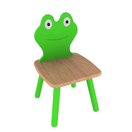 Child's Frog Chair