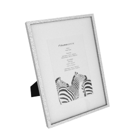 Gloria Photo Frame - 5x7 inches, Silver