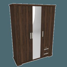 Optec 3-Door Wardrobe