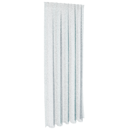 Maracuya Sheer Curtain Pair 135X240Cm - Aqua