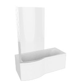 Delta Shower Bath, left