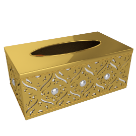 Amur Tissue Box Cover