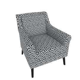 Willis Printed Armchair