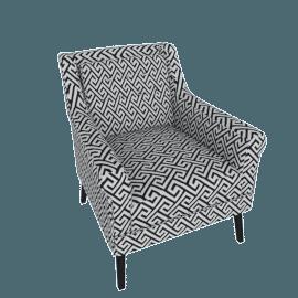 Willis Printed Armchair