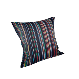 Maharam Pillow in Narrow Sequential Stripes 17'' x 17''