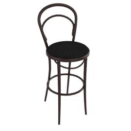 Era Barstool with Upholstered Seat