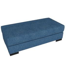 Signature Storage Ottoman, Blue