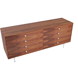 Nelson Thin Edge Double Dresser, Palisander