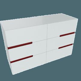 Aubrey 6-Drawer Dresser