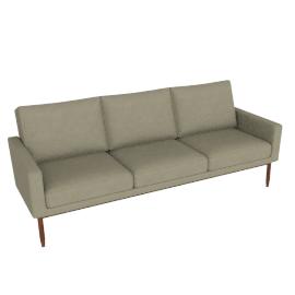 Raleigh Sofa - Slubby Weave, Parchment