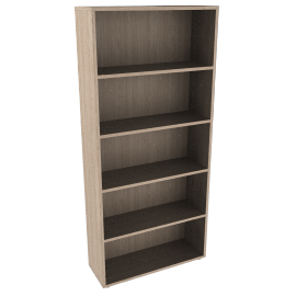 Dexter Tall Wide Bookcase