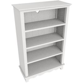 Victoria Bookcase, Ivory