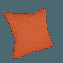 Linen Cushion, Orange