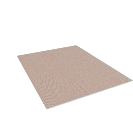 Element Rug 8'x10', Grey/Red-Orange