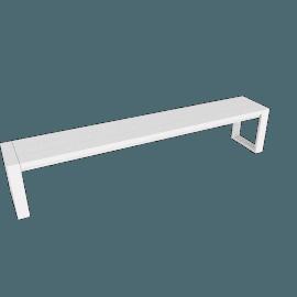 Eos Communal Bench, White
