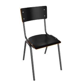 Suzy Dining Chair, Black