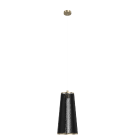 Solis Lamp, Small - Black