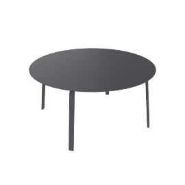 Stack Dining Table, Anthracite