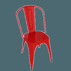 Marais A Chair - Vermillion