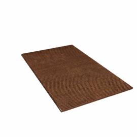 Jute Lifted Loop Rug, Brown, W90 x L150cm
