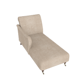 LHF Regency Chaise Longue, Luxor Tan
