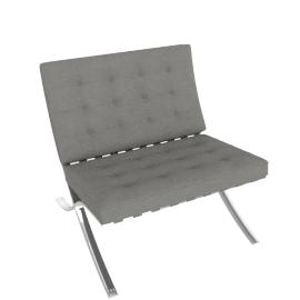 Barcelona Chair, Flint